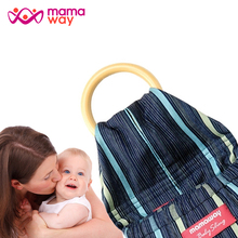 Machine Washable Fast Dry Ring Sling Baby Carrier with 100% Cotton Material