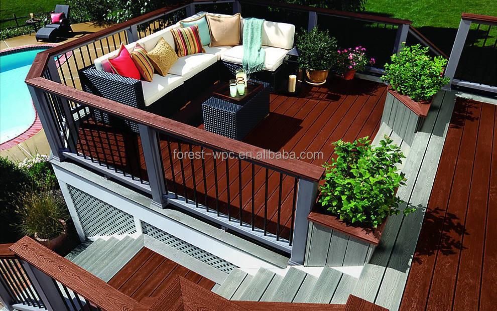 wpc balaustres para escaleras de puestos para la venta de la barandilla jardn de balaustre