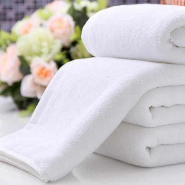 luxury wholesale white plain hotel used 100% cotton terry towel