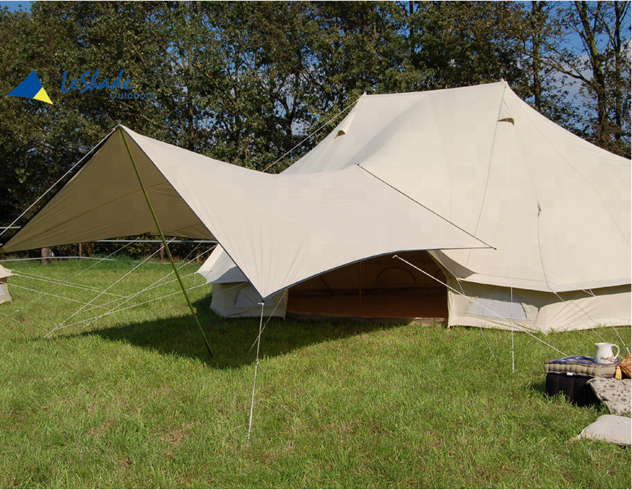 6x4m Luxury resort emperor Bell Tent tent cotton Canvas Glamping Tent