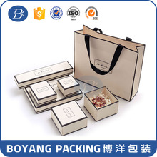 Magnet closure fashion jewelry paper box