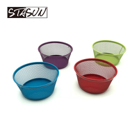 STASUN Office Stationery Metal Mesh Accessories Holder