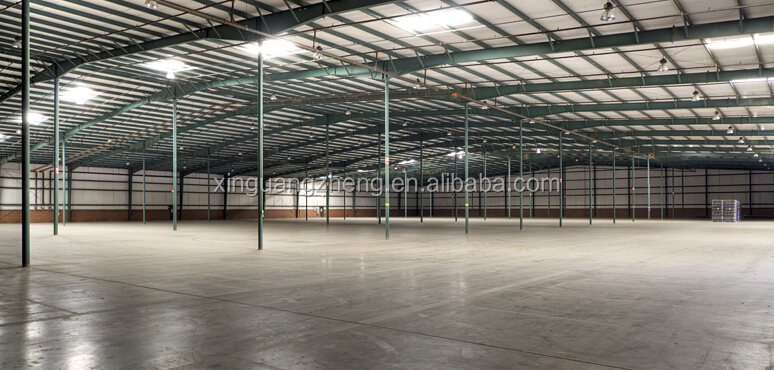 industry fireproof steel structure space frame dome shed