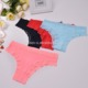 China Professional Manufacturer Red Lace Underwear Panties Thong Panty