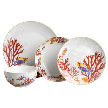 Dishwasher Safe 24pcs Fine Porcelain