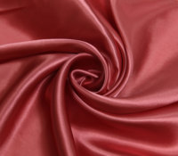 Chinese factory glazed 75D polyester silky dyed satin fabric microfiber fabric in rolls