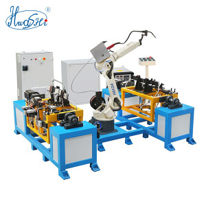 HWASHI 6 Axis 1.4m Robot Arm Furniture Chair Frame MIG Welding Robot
