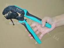 hand crimping tool for pressing cable to MC4 terminal in solar energy system