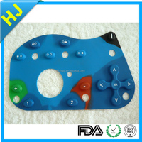 silicone rubber keypad for electronics