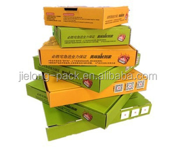 OEM four color printing pizza box
