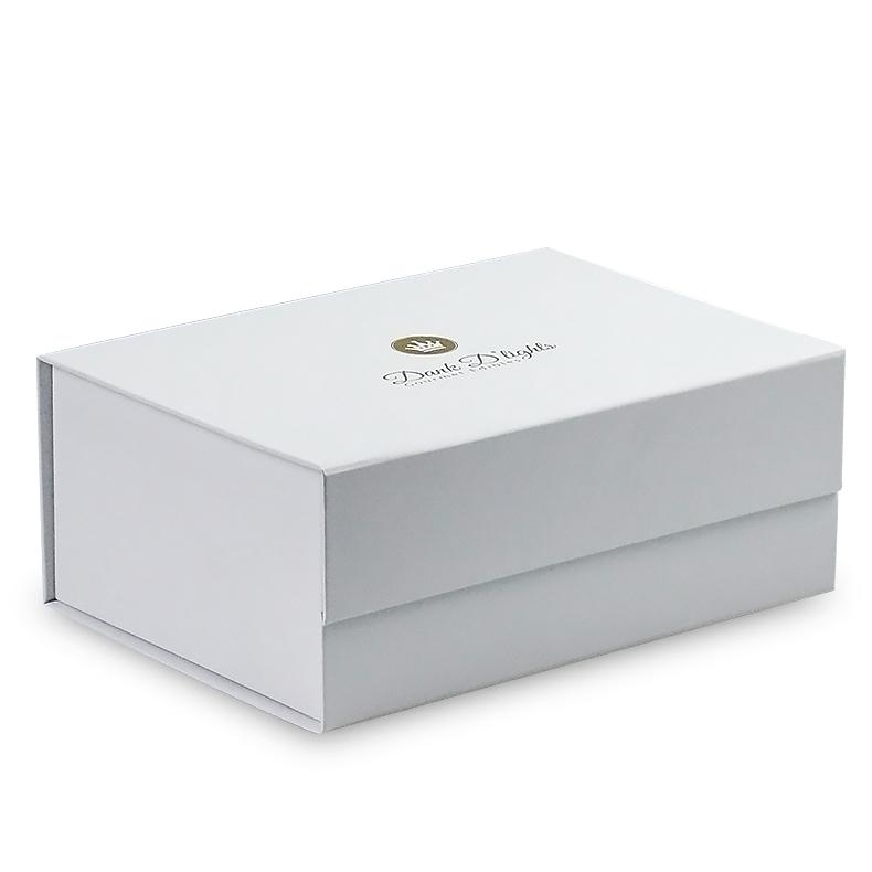 Benutzerdefinierte einzelhandel Logo gedruckt karton magnetische deckel premium verpackung papier geschenk box