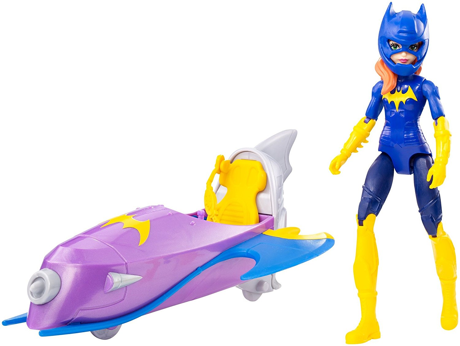 DC Super Hero Girls Batgirl Action Figure with Batjet Vehicle