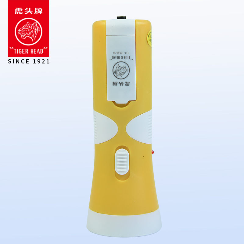 China Factory Tiger Head Plastic High Power Solar Power Rechargeable led  Flashlight, View led rechargeable flashlight, TIGERHEAD Product Details  from