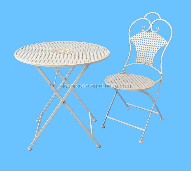 Schmiedeeisen Hochzeit Party Tische Und Stühle Garten Möbel Aus Metall