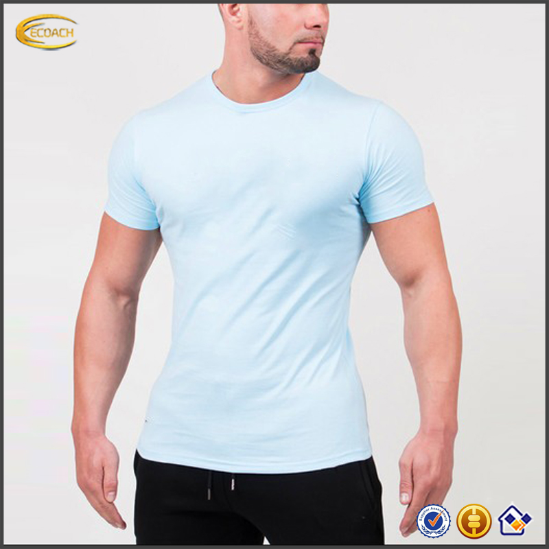 2017 NEW Wholesale OEM Custom Printing Fitness Mens T Shirts Dry Fit Athletic Tshirts
