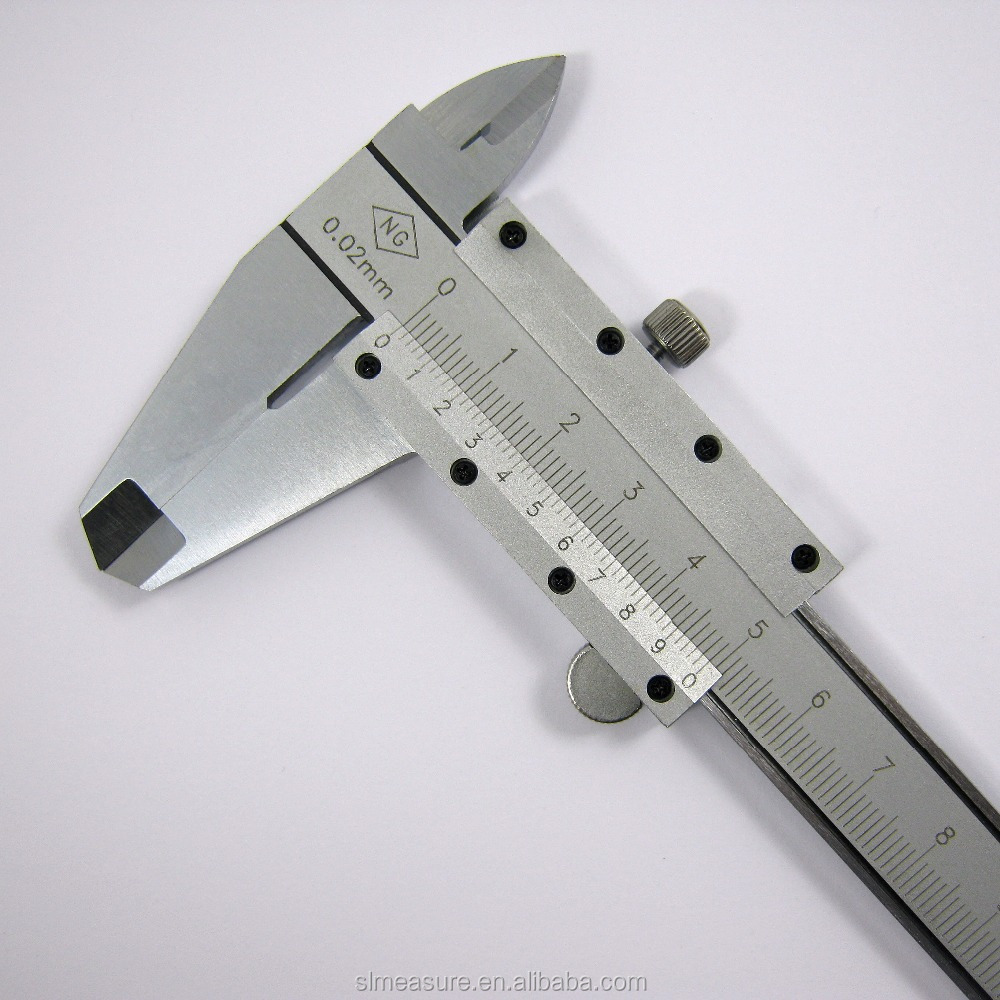 "Vernier Caliper 0-150mm/6"" Carbon Steel Four-function"