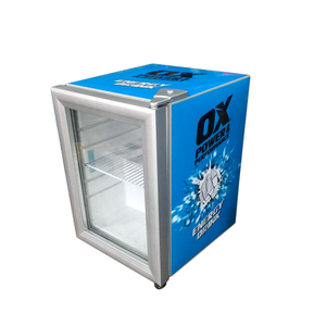 Hot Sale Glass Door Counter Top Small pepsi Refrigerator 21L