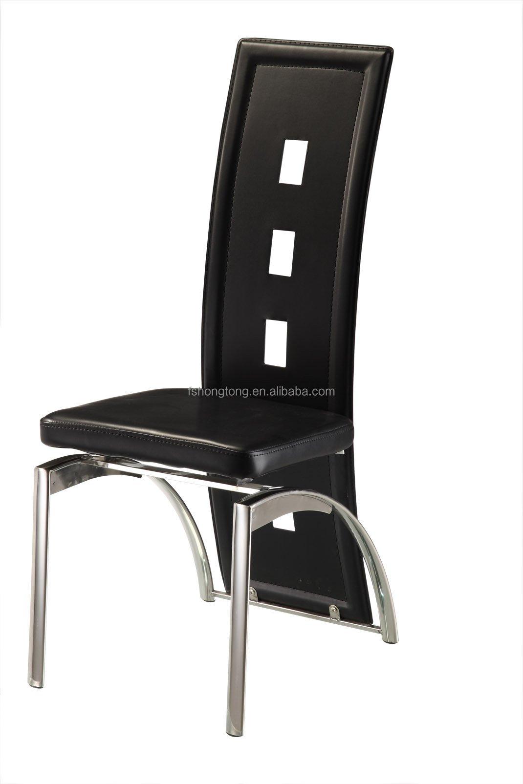 Acero cromado silla de comedor barato moderna silla de for Sillas modernas precios