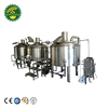 Turnkey large beer brewery equipment service turnkey nano brewery for brew pub beer canning line