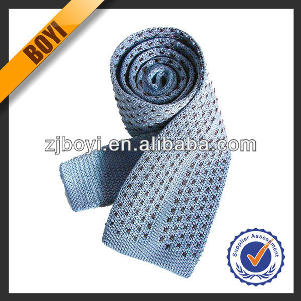100% Polyester Knitted Tie For Men