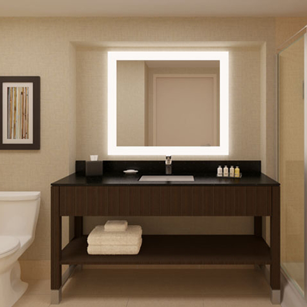 Modern Cheap Bathroom Led Backlit Mirror