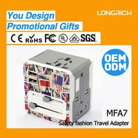 data linethailand travel adapter with dual usb with fcc for lover gifts