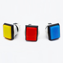 Arcade Parts Rectangle Waterproof Led Mini Push Button Switch