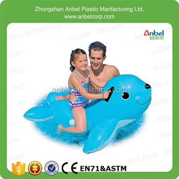 Charmant Lovely Children Rideable Swimming Pool Toy Giant Inflatable Seals Floating  Mounts
