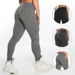 643ac163c High Waist Sports Fitness Pants Womens Spandex Yoga Leggings Tights High  quality