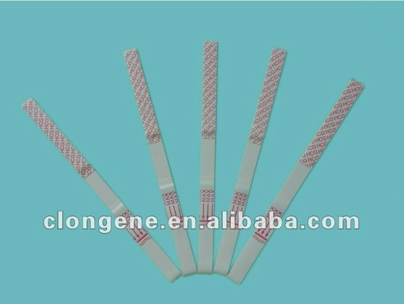 Urine Specimen Pregnancy HCG Test Strip