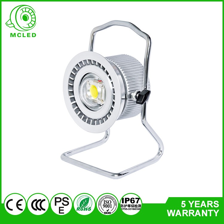 Portable Rechargeable LED Work Light DC 12V Battery Powered IP65 Waterproof Outdoor 20W 15W 10W