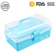 Custom new homeware utility fun art craft tools plastic medicine box organizer