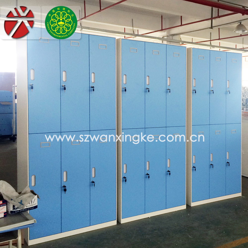 Metal Wardrobe Godrej Steel Almirah Female Changing Room