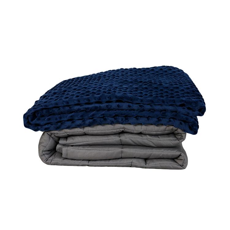 Оптовая продажа высокое качество дома Гравитация сенсорный взвешенный аутизм 5 фунтов мягкое взвешенное одеяло для взрослых