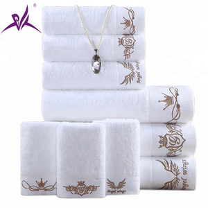 Luxury China Wholesale Embroidery 100% Cotton Turkish Towel