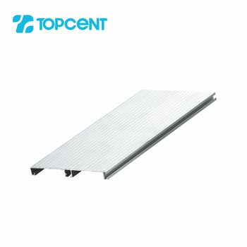 Aluminum alloy kitchen cabinet pvc skirting board