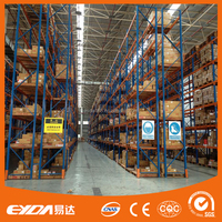 qualified manufacturer supplied anti-corrossion metal warehouse rack heavy duty pallet rack