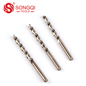 HSS Cobalt Copper Drill Bits for Stainless Steel Drilling DIN 338