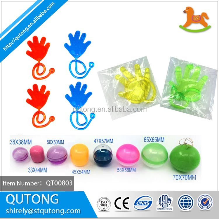 Chinese Supplier Wholesales Hand Sticky Capsule Toy