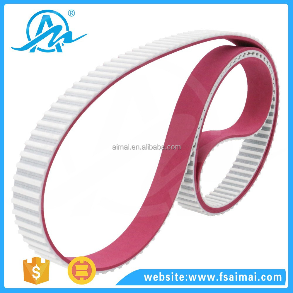 Customized Pu open ended Jointed machine timing belt used in production line