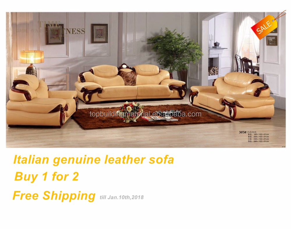 Italian Genuine Leather Sofa Wholesale Leather Sofa Suppliers  ~ Pure Leather Sofa Price