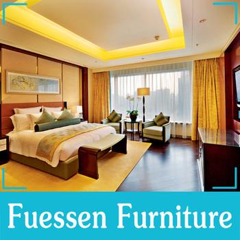 Exceptionnel Modern American Walnut Wood Hotel Bedroom Furniture Set