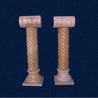 Hollow Roman Decorative Pillar Column In Stone