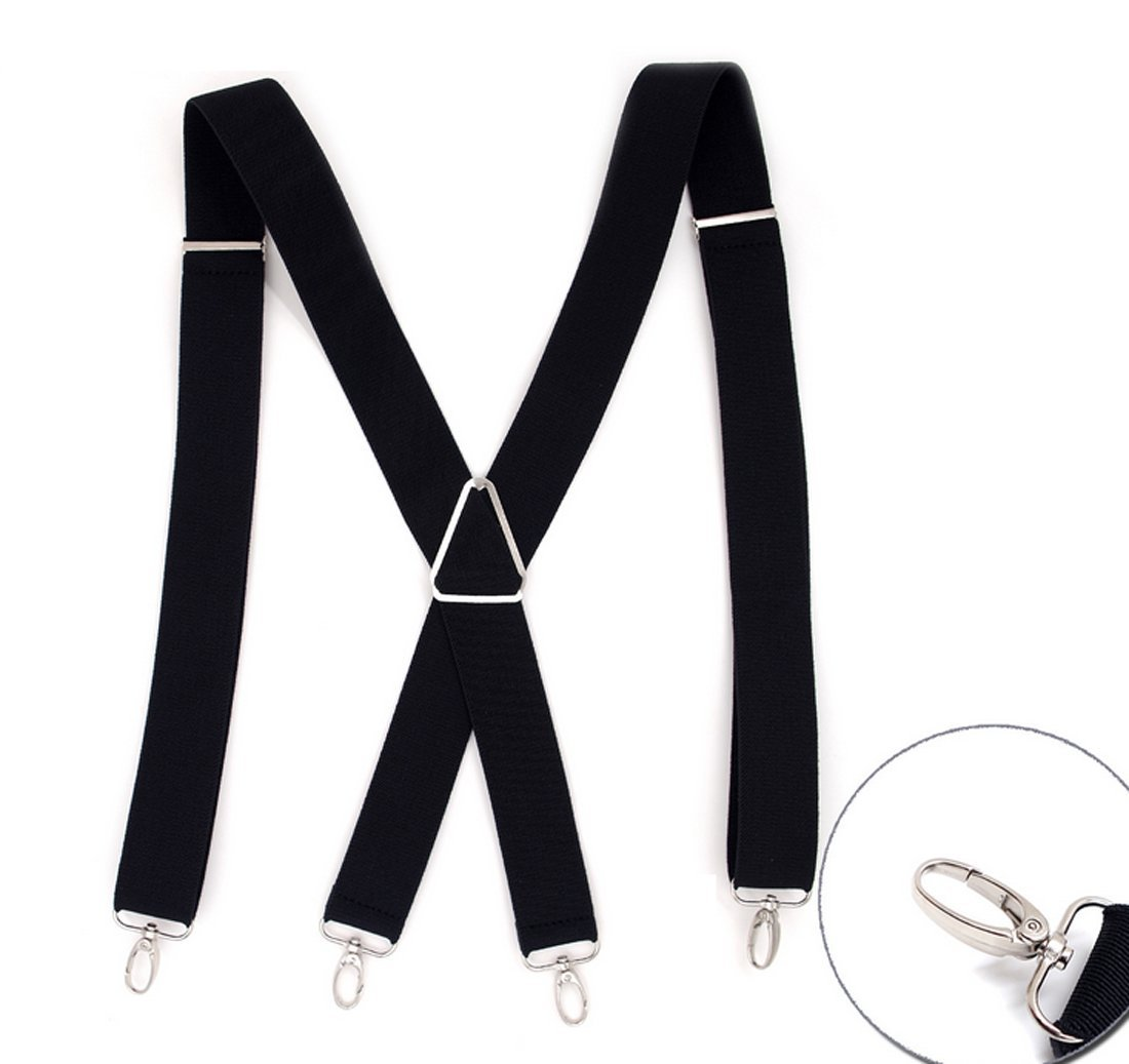 Proudly Made in USA Pre tied Bow Tie-Peach 22 Boys and Baby Extra Sturdy Polished Silver Metal Clips Hold/'Em Suspender and Bow Tie Set for Kids