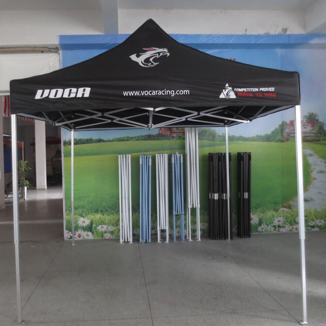 Custom Printed fast open pop-up tent
