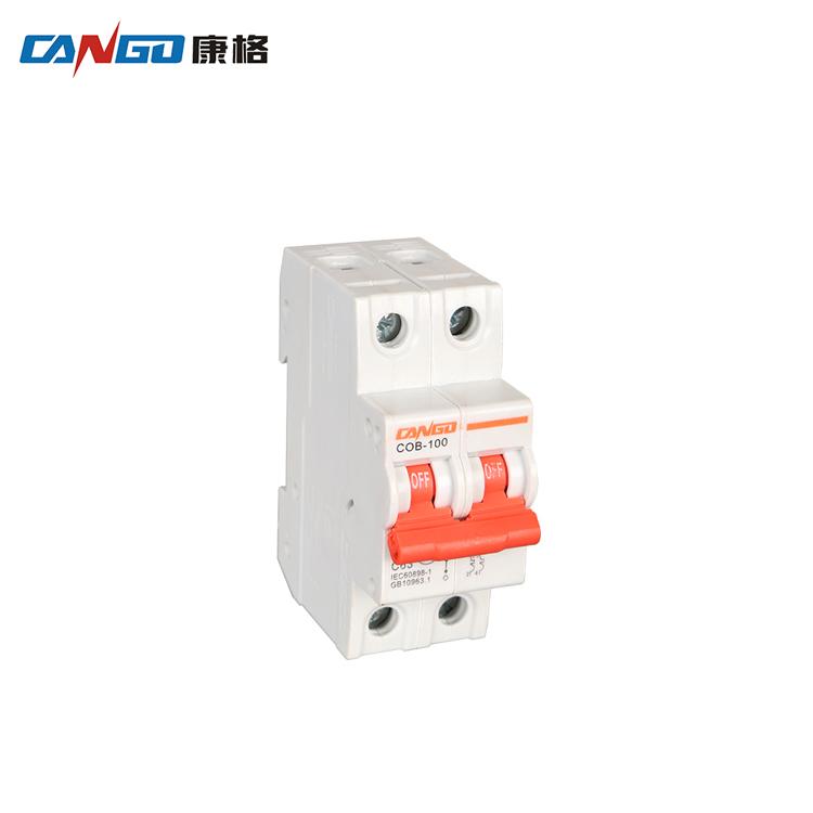 Leistungsschalter Heimwerker Mini Circuit Breaker Nxb-63 2 Pole C Typ 6a 10a 16a 20a 25a 32a 40a 50a 63a 400 V Mcb Dz47-63