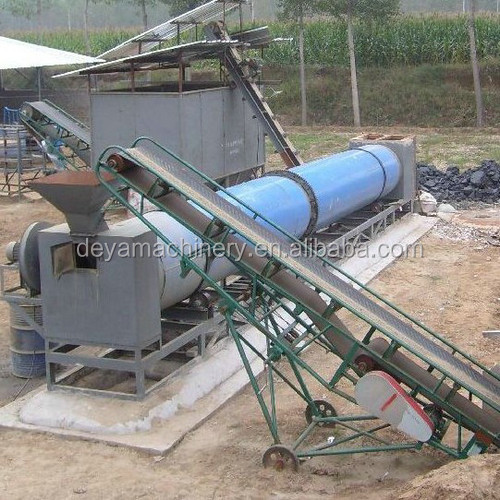 silica sand clay rotary dryer