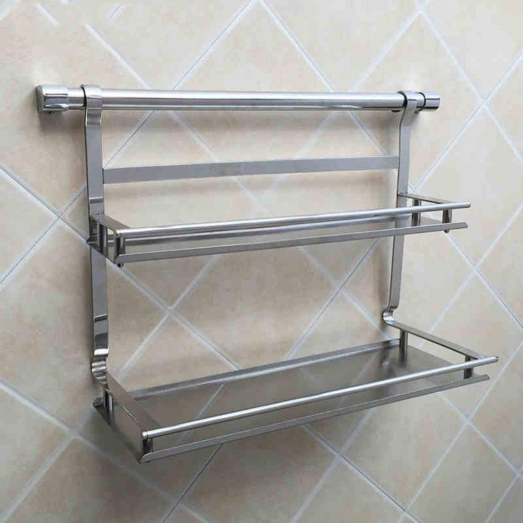 Get quotations · rack shelf kitchen racks wall mounted storage rack 304 stainless steel kitchen pendant knife rack