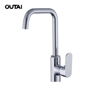 High quality commercial mixer faucet customized safety copper kitchen sink taps