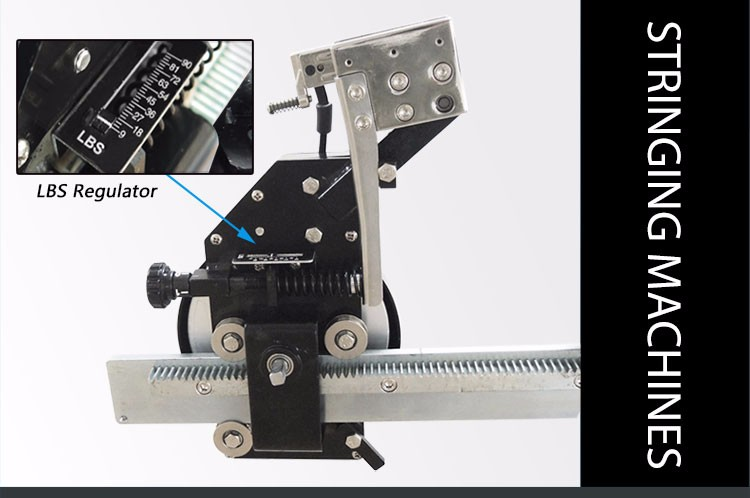 ALPHA Manual badminton and tennis racket stringing machine for 9LBS to  90LBS, View badminton and tennis racket stringing machine, ALPHA Product